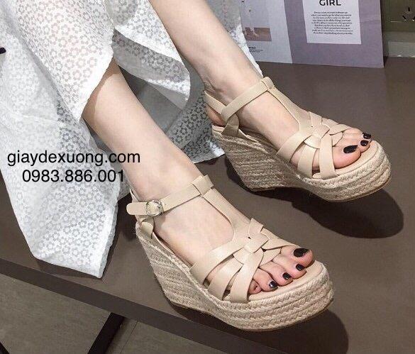 Giày đế xuồng cao 9,5cm – Mã 201201